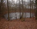 Jeden z kraterów w rezerwacie