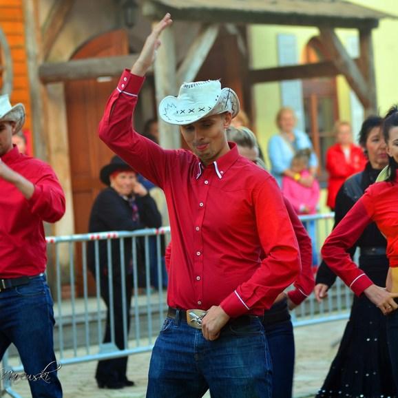 Movimento Cowboys przyciągali wzrok z daleka