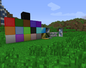 Wool looks like normal colorful iron blocks