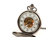Męski zegarek z dewizką