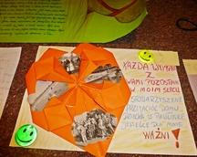 """Praca zgłoszona w konkursie plastycznym  pt. """" Moja przygoda ze Stowarzyszeniem Przyjaciół Domu Dziecka w Pawłówce"""""""