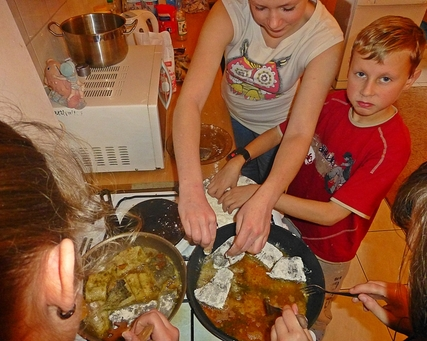 Zajęcia kulinarne - Wyrównywanie szans edukacyjnych
