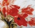 """Wyróżnienie Centralnego Muzeum Włókiennictwa Urszula Kucharczyk, Włodawa """"Tulipany na wietrze"""""""