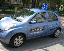 samochód OSK REKRUT