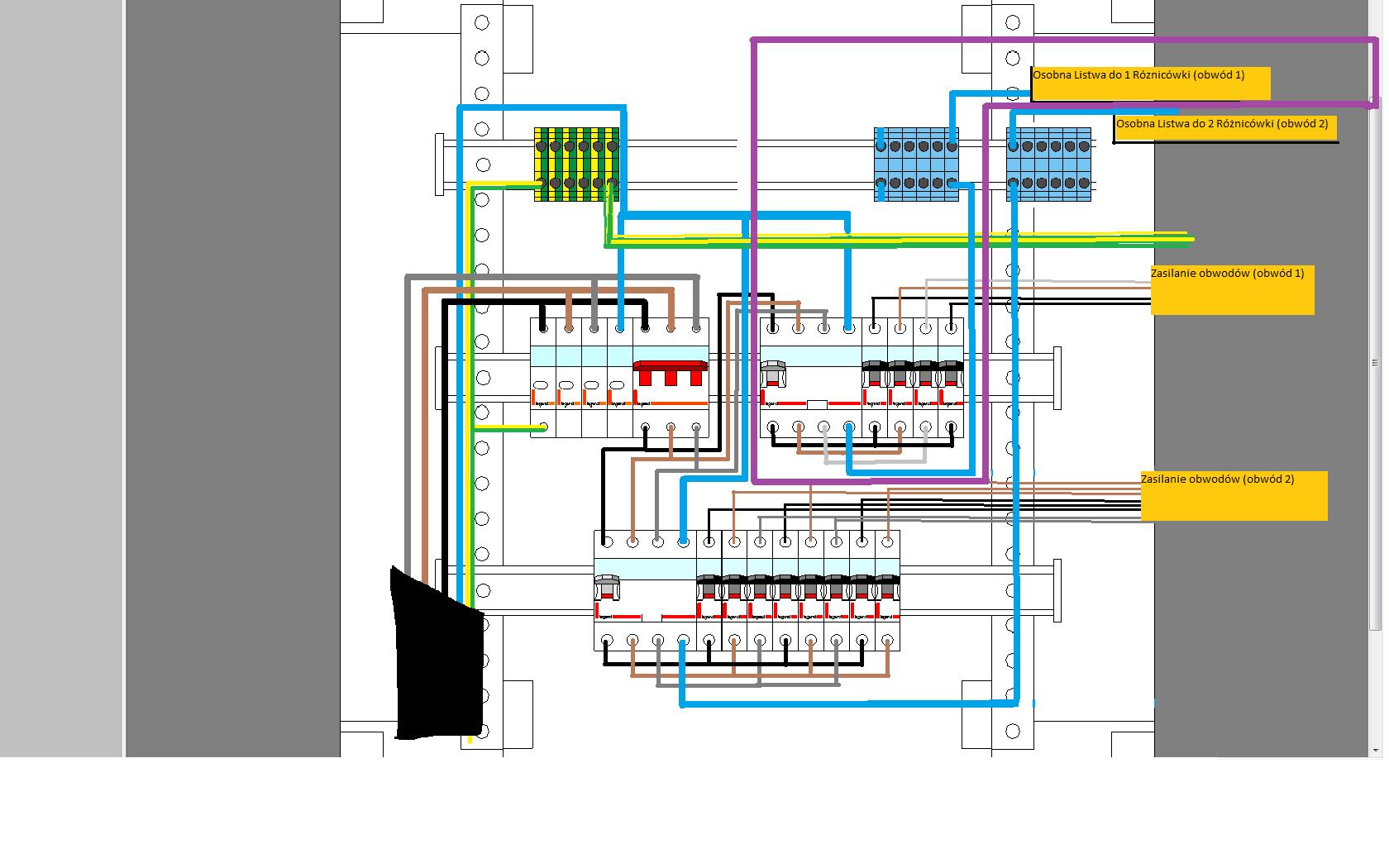 SCHEMATY ELEKTRYCZNE  ELEKTRICAL -> Kuchnia Elektryczna Schemat Podlączenia
