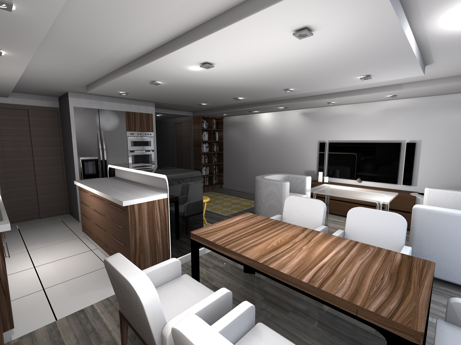 wizualizacja firma kaiser. Black Bedroom Furniture Sets. Home Design Ideas