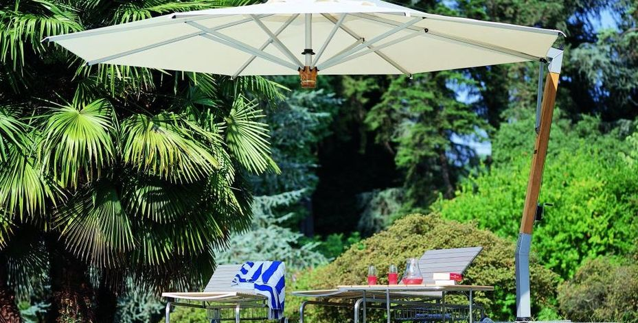 Parasol ogrodowy made in Italy