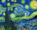 """Gwiaździsta noc"" Vincenta van Gogha"