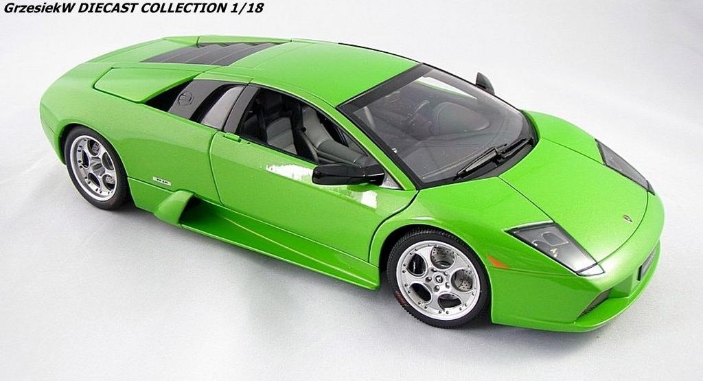 Lamborghini Murcielago Metallic Green Autoart No 74514