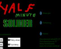 Half-Minute Soldier - menu