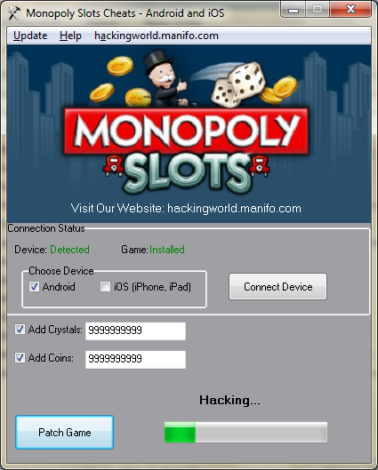 slots farm cheats