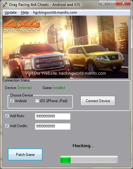 download drag racing cheat android