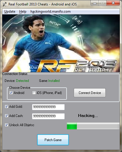 Real Football 2013 Hack - Android/iOS
