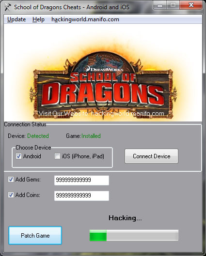 School of Dragons Cheats for Android/iOS Download