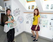 wystawy i spotkania z twórcami