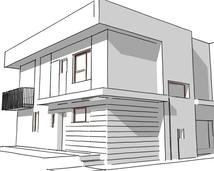 szkic architektoniczny