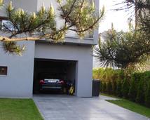 beton architektoniczny-podjazd