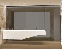 nowoczesne projekty łazienek w galeriach handlowych