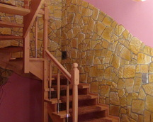 Kamień dekoracyjny kolor nr 17 fuga szara