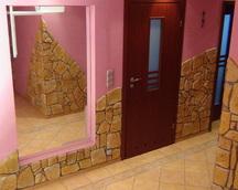 Kamień dekoracyjny gipsowy kolor nr 17 fuga szara