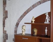 Ozdobny kamień dekoracyjny, typ symetryczny, kolor: 3