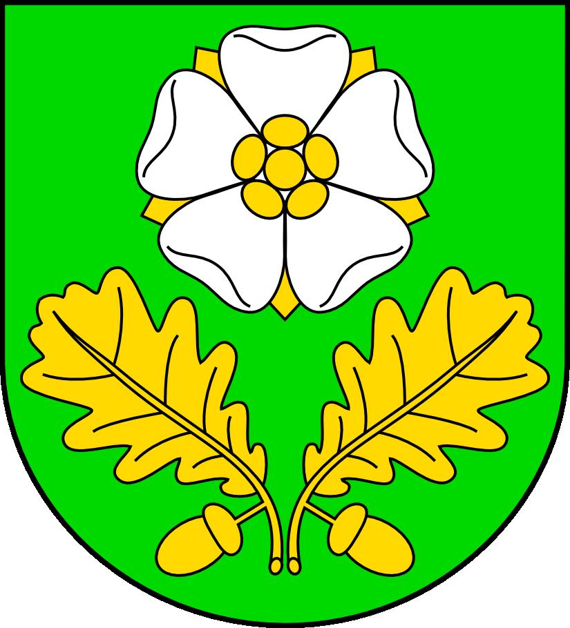 Herb gminy Dąbrowa Zielona