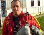Krzysiek , instruktor spadochronowy w naszym stowarzyszeniu