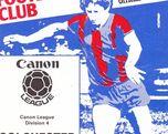 Aldershot vs. Colchester 23.04.1984