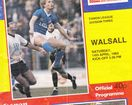 Millwall vs. Walsall14.04.1984; signed by Millwall players