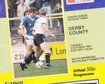Millwall vs. Derby County 02.10.1984