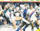 Crystal Palace vs. Nottingham Forrest 29.10.1986; signed by Crystal Palace players