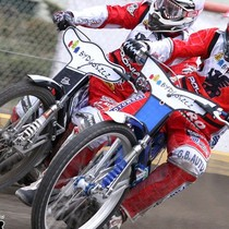 Wyścig XX - Robert Kościecha (czerwony) odpiera atak Krzysztofa Buczkowskiego (biały)