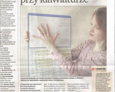 Article dans la presse de Wroclaw