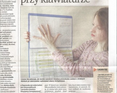 An article in the Wrocław press