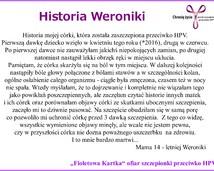Weronika, 14 lat