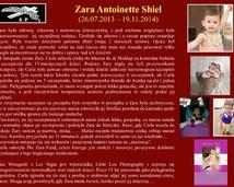 22. Zara Antoinette Shiel (26.07.2013 – 19.11.2014)