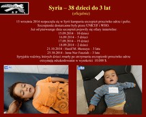 24. Syria – 38 dzieci do 3 lat