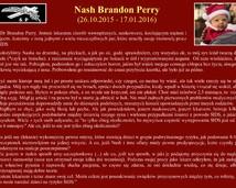 26. Nash Brandon Perry (26.10.2015 - 17.01.2016)