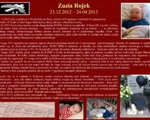 29. Zuzia Rojek (23.12.2012 – 24.04.2013)