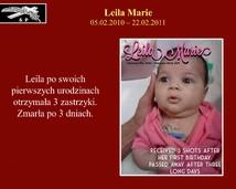 30. Leila Marie (05.02.2010 – 22.02.2011)