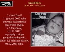 31. David Ries (26.08.2006 – 04.02.2013)