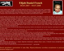 33. Elijah Daniel French (04.05.2007 – 04.07.2008)