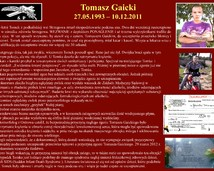 34. Tomasz Gaicki (27.05.1993 – 10.12.2011)