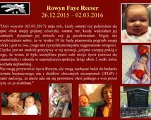 36. Rowyn Faye Reeser  (26.12.2015 – 02.03.2016)