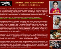 42. Jonathan Daniel Ramirez Porter (29.09.2010 - 30.10.2016)