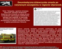 49. Dwumiesięczna dziewczynka zmarła po rutynowym szczepieniu w regionie Uljanowsk