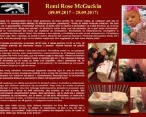 52. Remi Rose McGuckin (09.09.2017 – 28.09.2017)