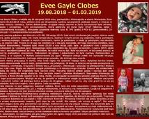 56. Evee Gayle Clobes (19.08.2018 – 01.03.2019)