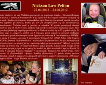 6. Nickson Law Pelton (22.04.2012 - 24.08.2012)