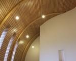 kaplica hospicjum w Oswiecimiu,oswietlenie dedykowane.